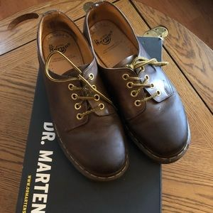 DR. MARTENS Brown Shoes